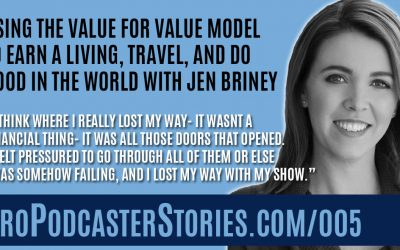 Using the Value for Value Model to Earn a Living, Travel, and Do Good in the World with Jen Briney