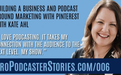 Building a Business and Podcast Around Marketing With Pinterest with Kate Ahl