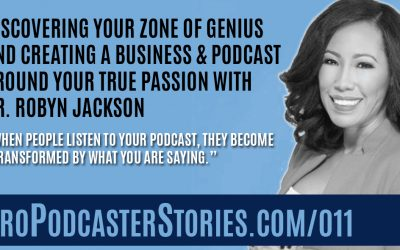 Discovering Your Zone of Genius and Creating a Business and Podcast Around Your True Passion with Dr. Robyn Jackson